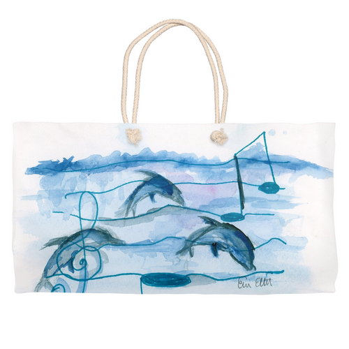 Dolphins & Music Weekender Totes