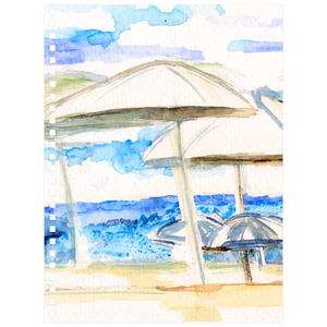 Umbrella By The Sea Notebooks