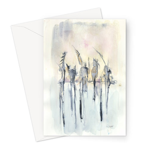 Sky Warriors Greeting Card