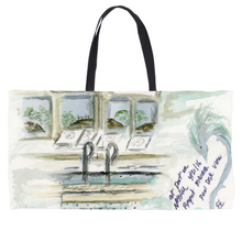 """Poolside on deck of navigator1"" Weekender Tote bag"