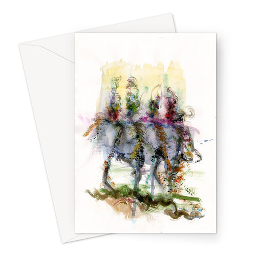 Runway Warriors Greeting Card