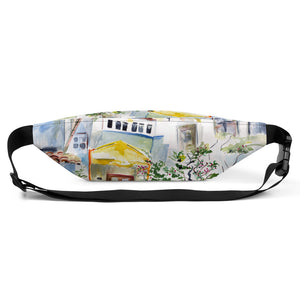 "Fanny Pack- Palm Beach Memories Collection- ""Chez Jean Pierre"""