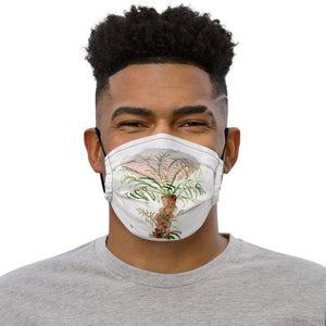 """Solo bumpy palm"" Premium face mask"
