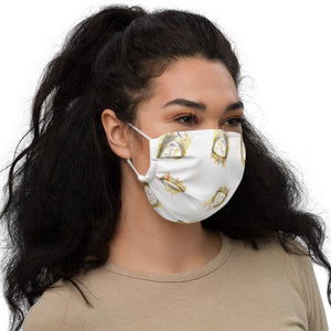 """Warrior Princess pattern"" Premium face mask"