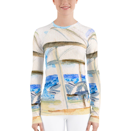 Women's Rash Guard All over print