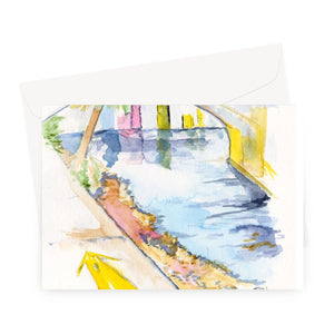Paradise Portal Greeting Card