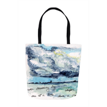 """Clouds Scudding By"" Tote Bags"