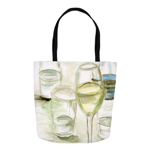 A Cool Drink Tote Bags