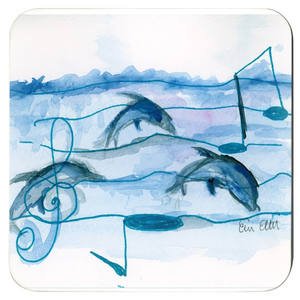 Dophins & Music Coasters