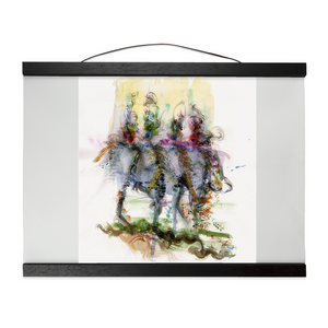 Runway Warriors Hanging Canvas Prints