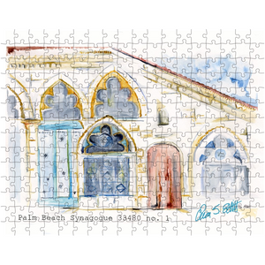 """Palm Beach Synagogue"" puzzle"