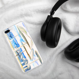 iPhone Case (umbrella by the sea) landscape