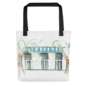 """Cabanas By The Sea No. 1"" Tote bag"