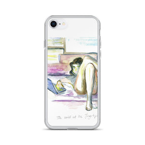 """World At Her Fingertips"" iPhone Case"