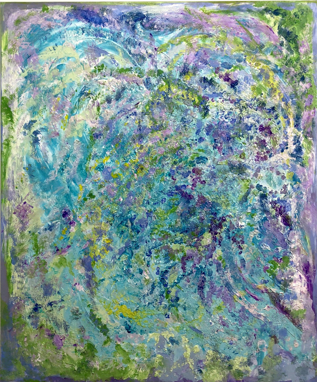 Acrylic on Canvas No.1