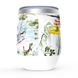 """""""France is Calling"""" Stemless Wine Tumblers 1"""