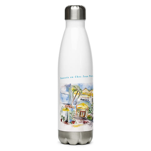 Palm Beach Memories CJP Stainless Steel Water Bottle
