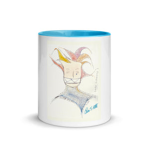"""Lady Liberty 1"" Mug with Color Inside"