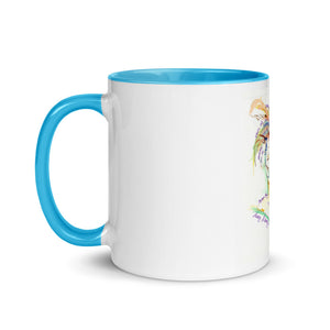 """LL CyndiLauper"" Mug with Color Inside"