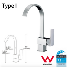 Load image into Gallery viewer, Kitchen Bathroom Laundry Shower Water Basin Mixer Tap Vanity Sink Faucet WELS-Type I