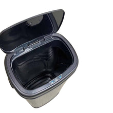Load image into Gallery viewer, Sensor Bin 68L Silver Stainless Steel Rubbish Bins Motion Automatic