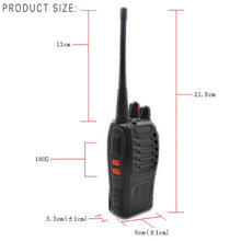 Load image into Gallery viewer, Walkie Talkies 6x 5W UHF 16CH BF 888S Radios Two-Way Radio UHF 400-470MHz