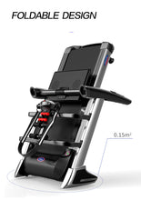 Load image into Gallery viewer, Multi-functional Electric Treadmill Pulse Sensor Fitness Home Gym Massage Sit Up Bar