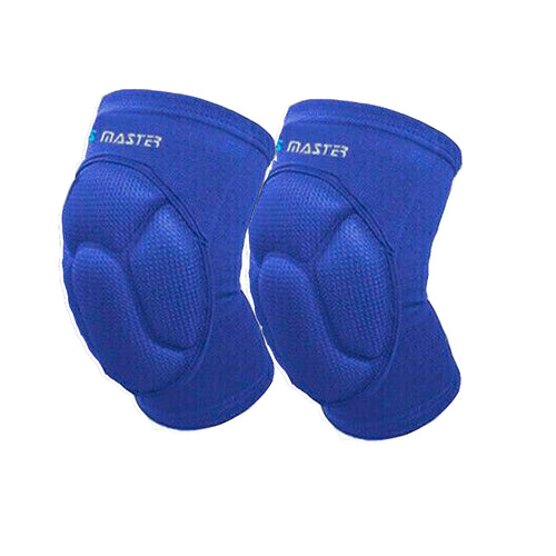 Blue 2x Knee Pad Crashproof Antislip Brace Leg Sleeve Protector Guard Support Gear