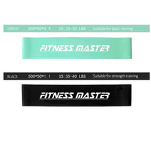 Load image into Gallery viewer, 6PCS Resistance Loop Bands Mini Band Exercise Crossfit Strength Fitness GYM Yoga