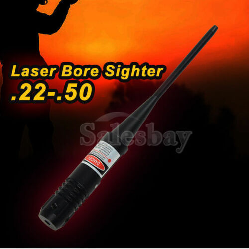 Hunting Red Dot Laser Bore Sight .22-.50 Boresighter Rifle Sighter Boresight
