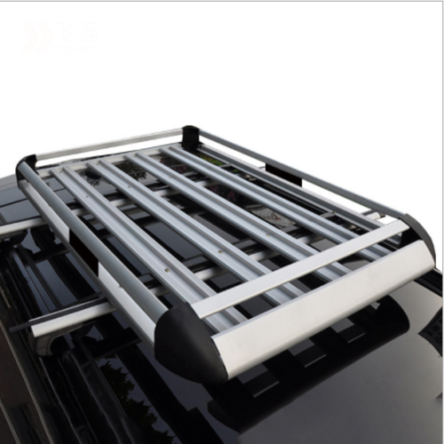 140*100 Black Double Aluminium AlloySUV 4x4 RoofRack Basket Cargo Luggage Carrier Box