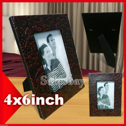 6 x Leather Bound Photo Frame 4