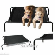 Load image into Gallery viewer, XLarge Heavy Duty Pet Dog Cat Bed Trampoline Hammock Cot 130x85cm