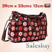 Load image into Gallery viewer, Carter's Pretty Floral Diaper Nappy Bag