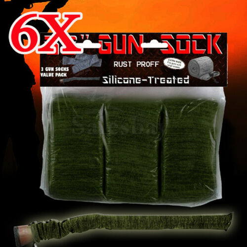 6X Gun Sock Cover Silicone Treated 52