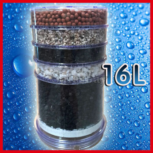 2X  Water Filter Purifier Ceramic Carbon Mineral Dispenser Replacement Cartridge