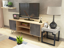 Load image into Gallery viewer, Wooden 120CM TV Stand Cabinet LCD LED Entertainment Unit Storage Shelf Fruniture