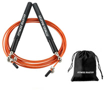 Load image into Gallery viewer, 3M Steel Adjustable Dual Bearings Skipping Jump Rope Exercise GYM Boxing Speed