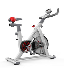 Load image into Gallery viewer, Exercise Spin Bike 8kg Flywheel Fitness Commercial Home Gym Black/White Unique Design