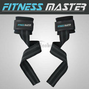 Weight Lifting Straps GYM Training Wrist Strength Support Bar Bodybuilding