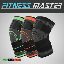 Load image into Gallery viewer, 3D Weaving Knee Brace Elastic Sleeve Support Compression Arthritis Sports Leg