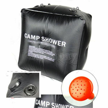 Load image into Gallery viewer, Camping 20L Outdoor Solar Heated Water Pipe Solar Shower Bag Portable Bag