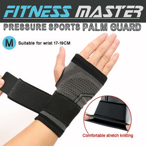 Wrist Support Compression Hand Brace Wrap Strap Thumb Protector Carpal Tunnel