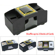 Load image into Gallery viewer, Automatic Card Shuffler Poker Cards Shuffle Machine For Casino Game Fun Game