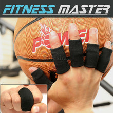 Load image into Gallery viewer, 10X Finger Sleeves Sport Support Brace Thumb Protector Basketball Arthritis