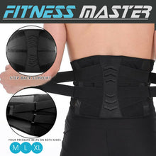 Load image into Gallery viewer, Waist Support Brace Lumbar Lower Back Belt Posture Trimmer Strap Pain Relief