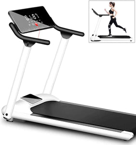Folding Motorised Treadmill Walking Ultra Thin Silent Intended Compact Exercise