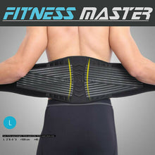 Load image into Gallery viewer, Deluxe Waist Support Brace Lumbar Lower Back Pain Relief Belt Posture Waist