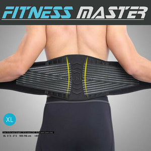 Deluxe Waist Support Brace Lumbar Lower Back Pain Relief Belt Posture Waist