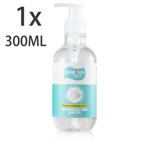 1x 300ML Instant Hand Sanitizer Sanitiser Gel Pump Alcohol 75% Ethanol Base